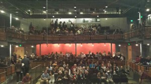 Full house at Woolly Mammoth Theatre